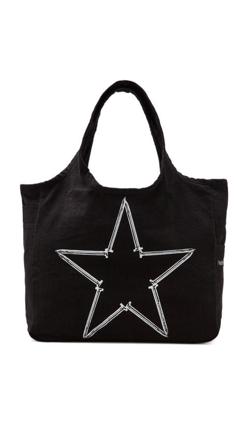 Taylor Medium Nail Star Canvas Tote