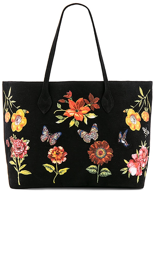 Lauren Moshi Jackie Luxury Tote in Black