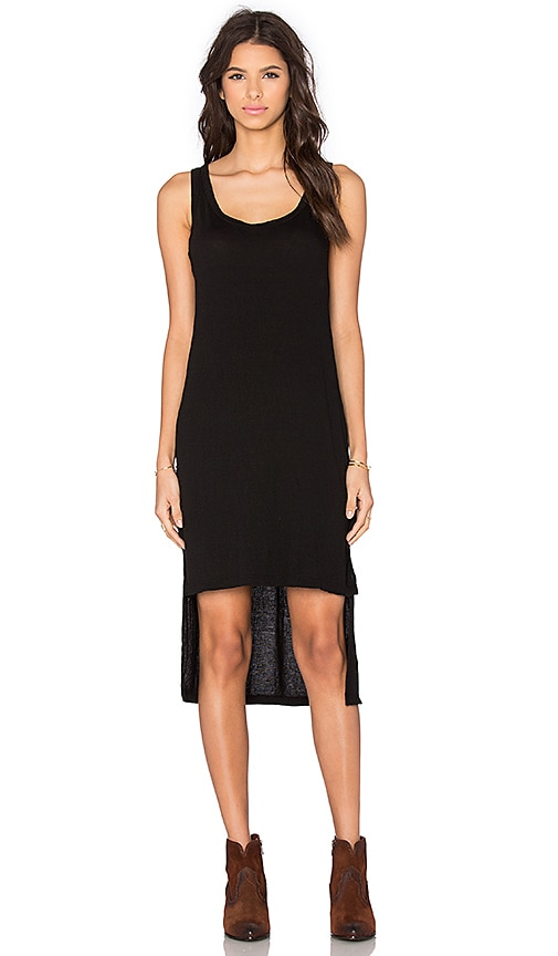 LNA Fiji Tank Dress in Black