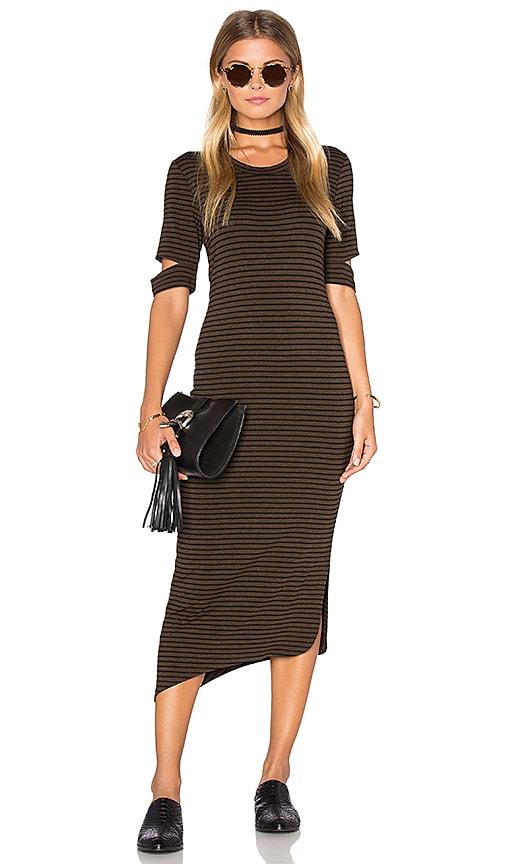 LNA Esso Dress in Brown