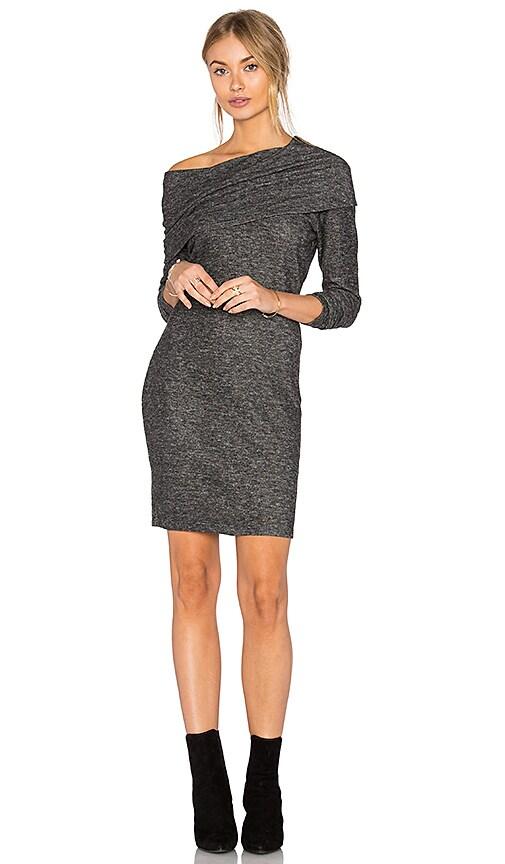 LNA Brenda Scarf Dress in Gray