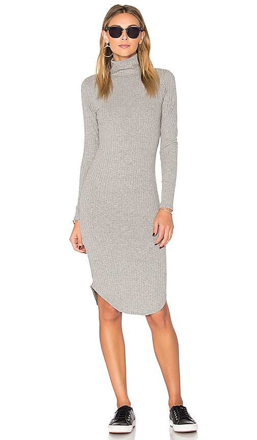 LNA Cindy Dress in Grey