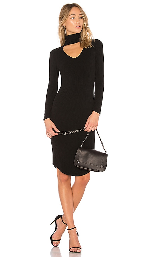 LNA Letta Dress in Black