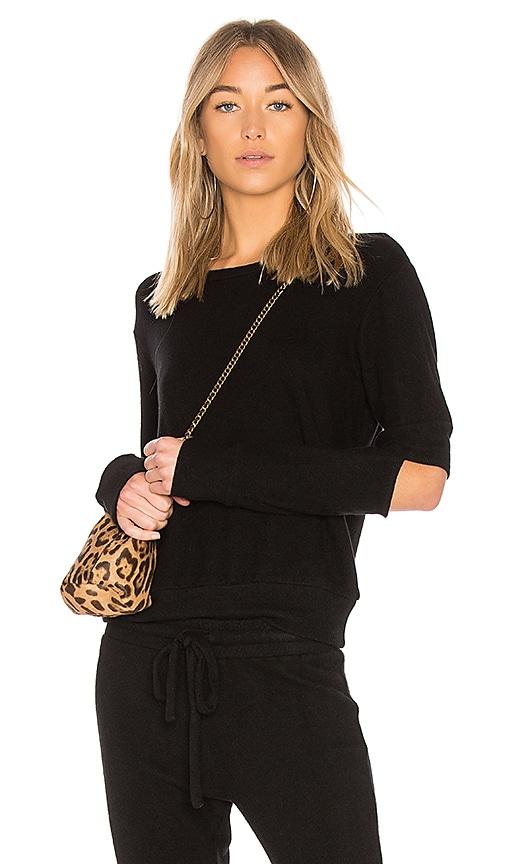 LNA Odeon Sweater in Black