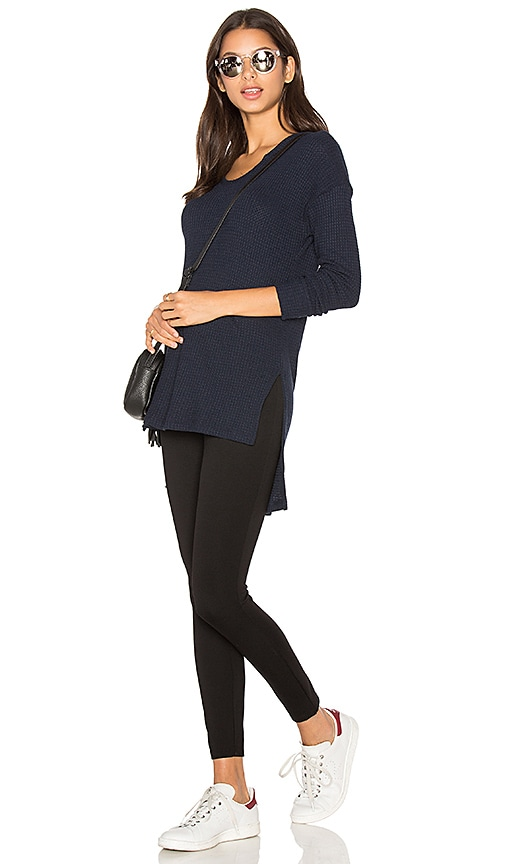 LNA Eva Sweater in Navy
