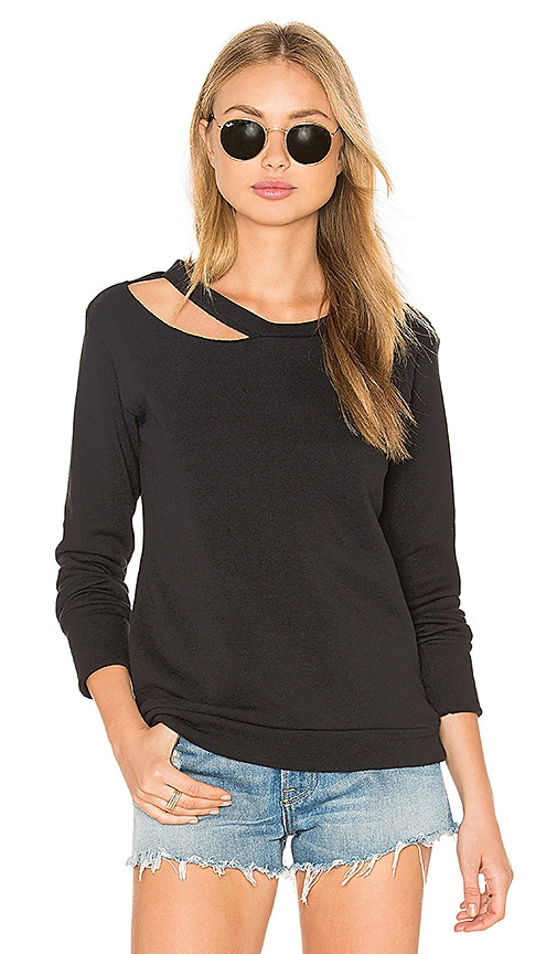 LNA Cueva Sweatshirt in Black