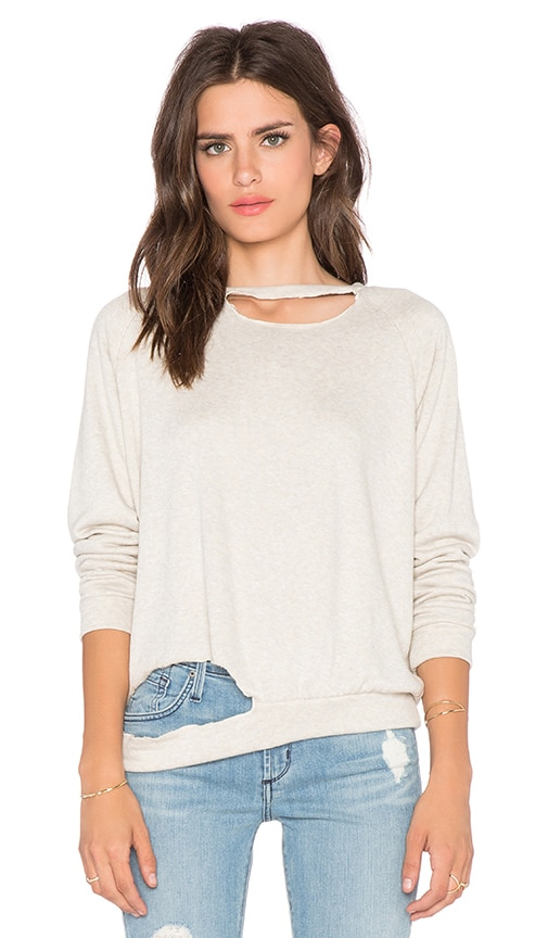 LNA Zora Sweatshirt in Lino
