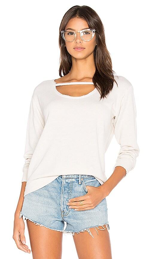 LNA Maya Sweatshirt in White