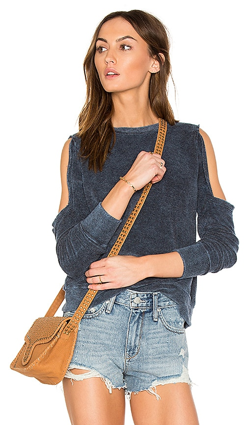 LNA Doubles Sweatshirt in Blue