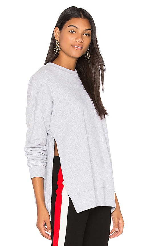 LNA Hudson Sweatshirt in Gray