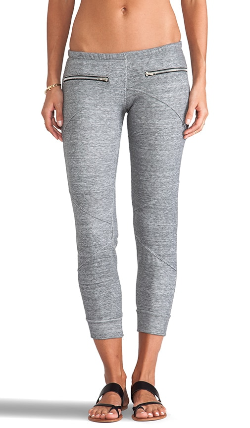 Terry Zip Sweatpant