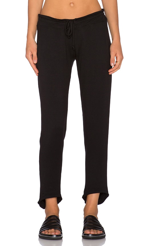 LNA Alexa Relaxed Pant in Black