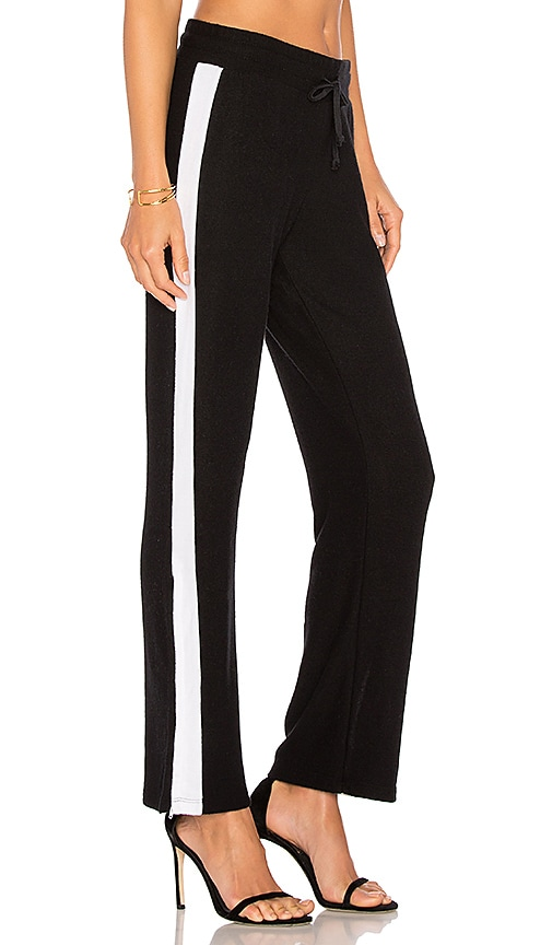 LNA Sweater Track Pant in Black
