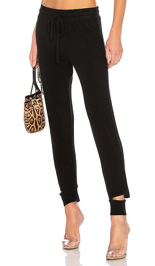 LNA Brushed Sweatpants in Black
