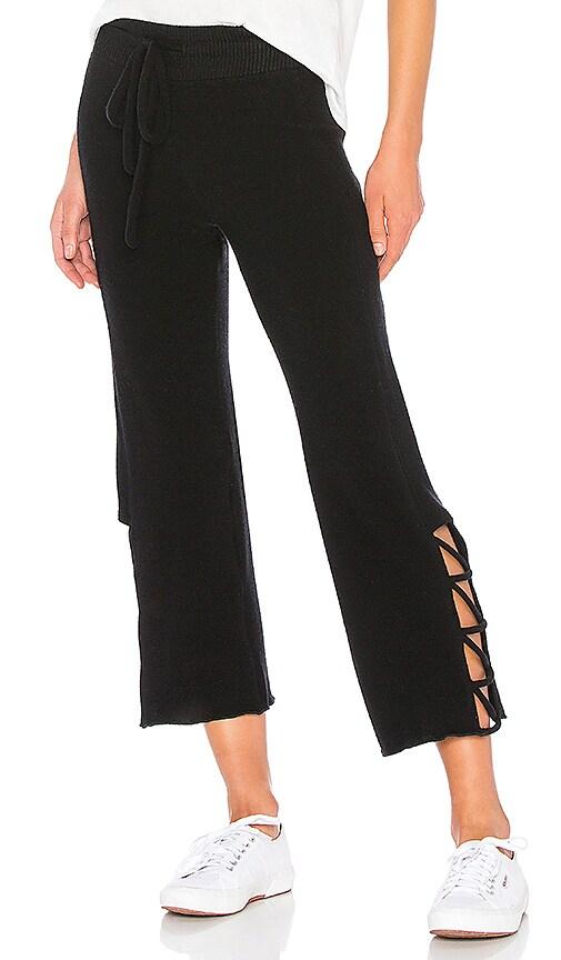 LNA Brushed Aria Pant in Black
