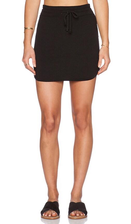 LNA Lainie Mini Skirt in Black