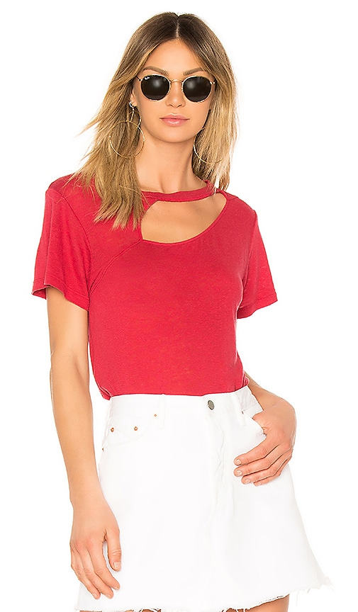 LNA Reprise Tee in Red