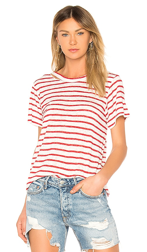 LNA Iles Tee in Red