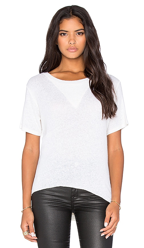 LNA Side Sweep Tee in Natural