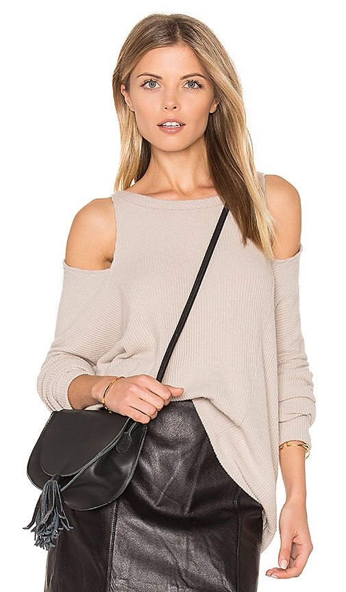 LNA Slice Top in Gray