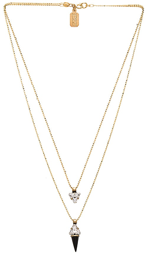 Lionette by Noa Sade Katelyn Necklace in Metallic Gold