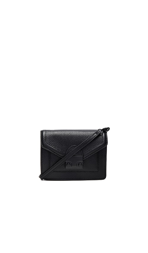 Loeffler Randall Baby Rider Crossbody in Black