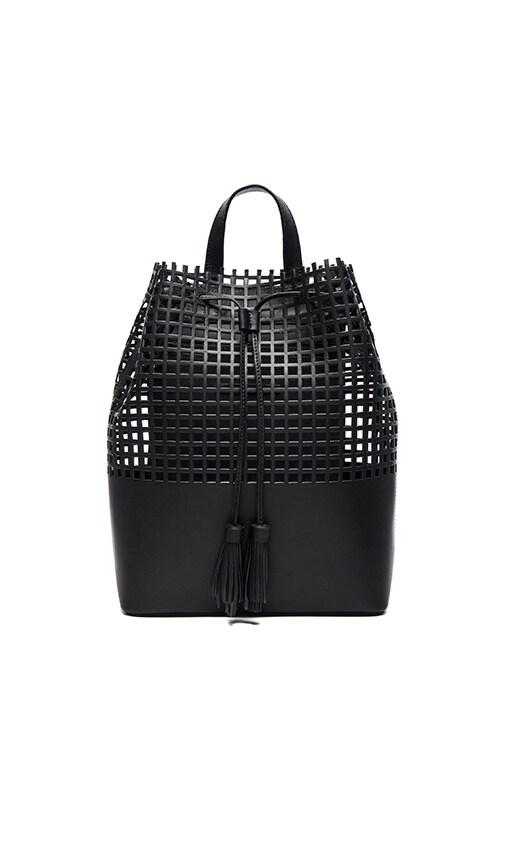 Loeffler Randall Tassel Backpack in Black