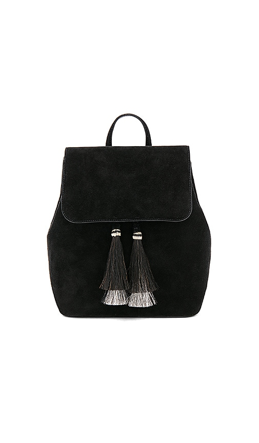 Loeffler Randall Drawstring Backpack in Black