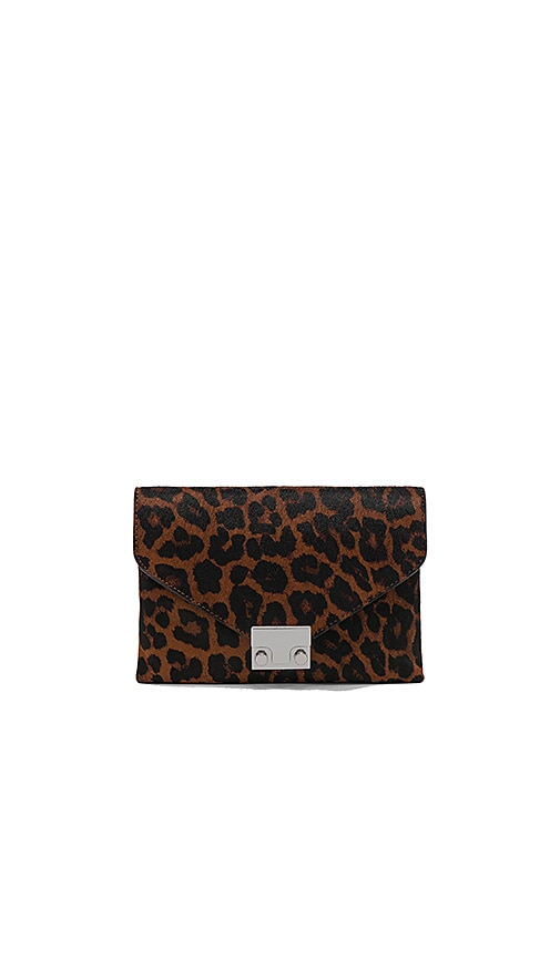 Jr Lock Calf Hair Clutch