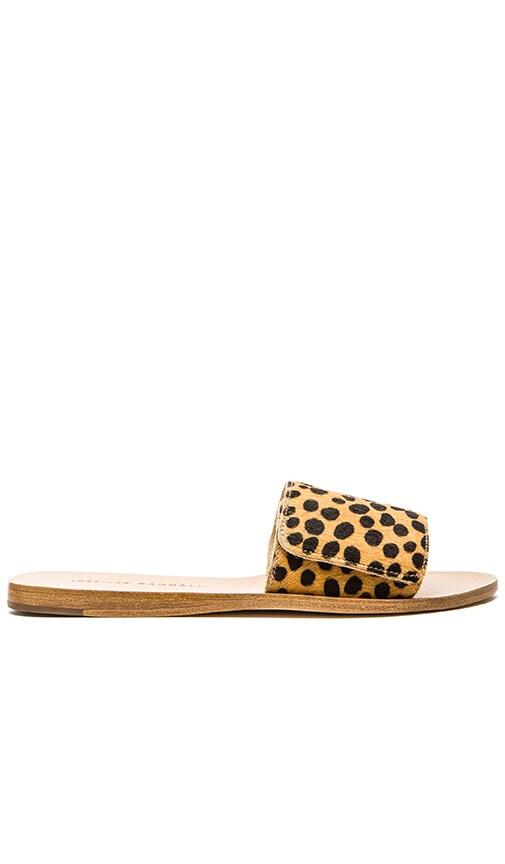 Loeffler Randall Sibi Calf Hair Sandal in Cheetah