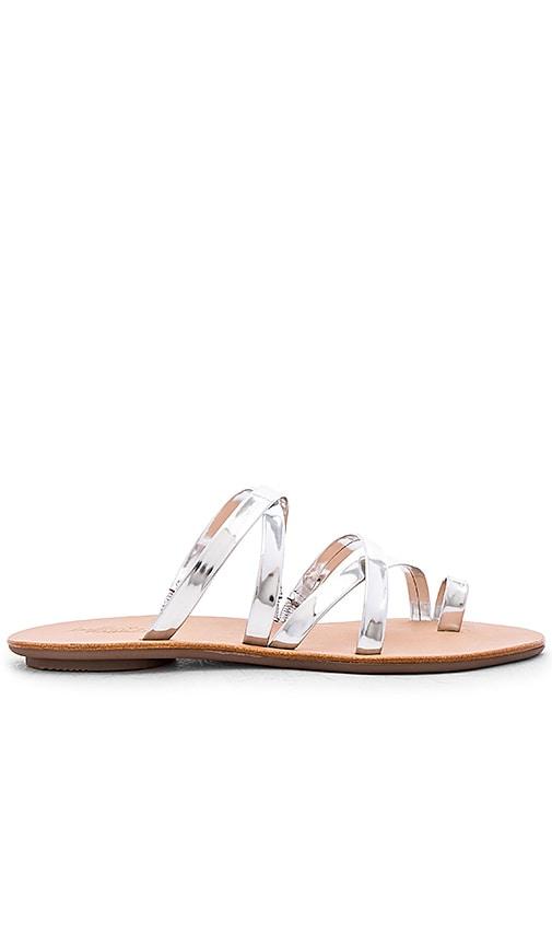 Loeffler Randall Sarie Sandal in Silver