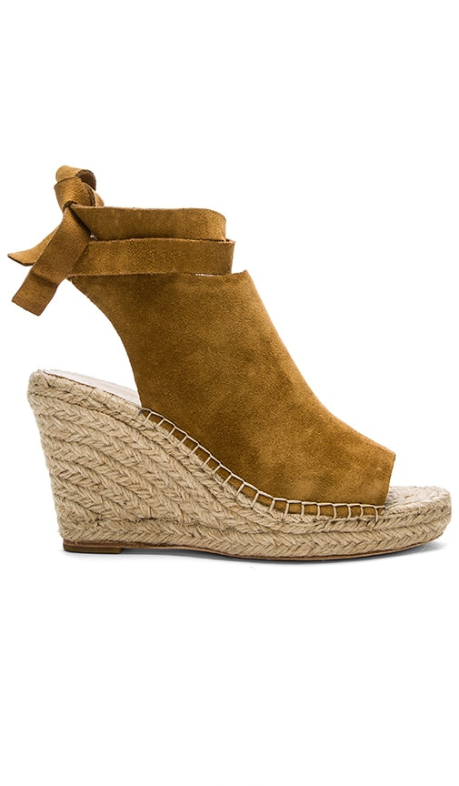 Loeffler Randall Lyra Wedge in Cognac