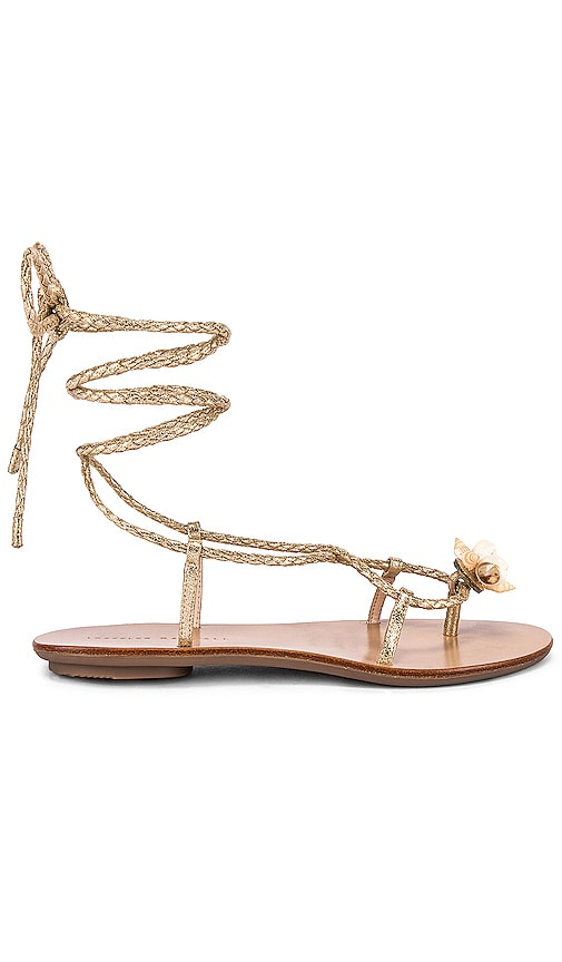 Wrap Sandal With Shells