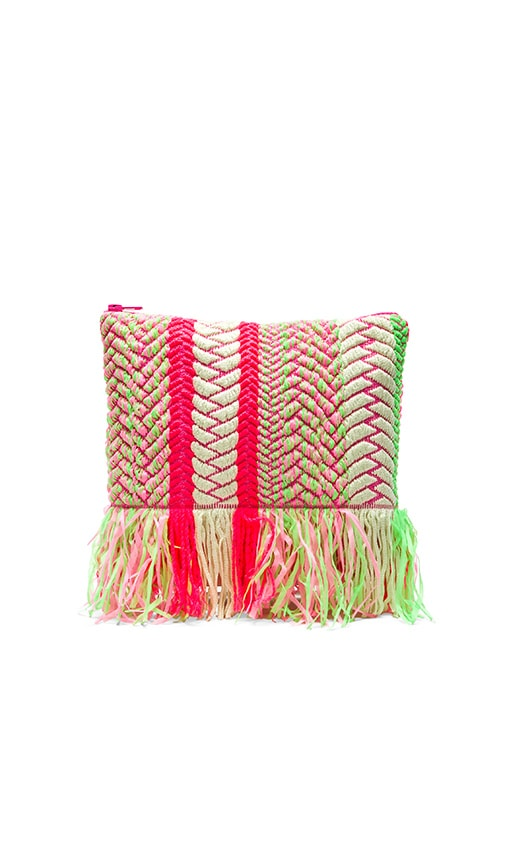 lolli swim Limeade Clutch in Fruit Stand