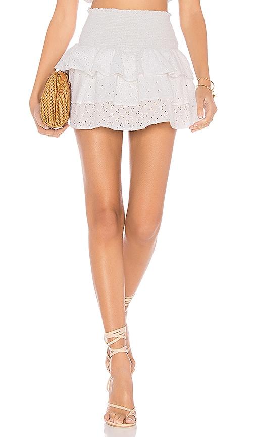 lolli swim x REVOLVE Eyelet Skirt in White