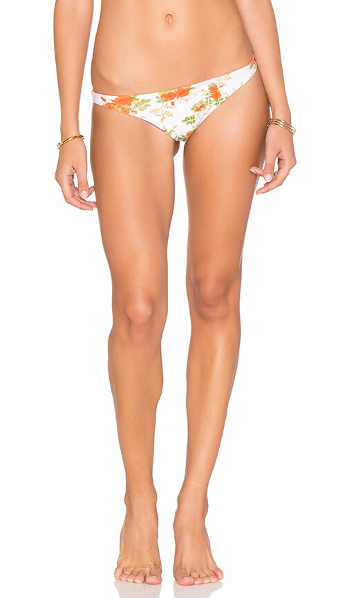 lolli swim Love You Reversible Teeny Tiny Bottom in White