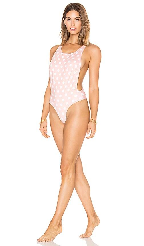 lolli swim Daydream One Piece in Peach