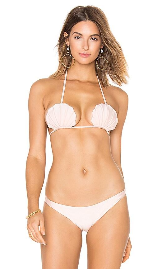 lolli swim Pixie Bikini Top in Pink