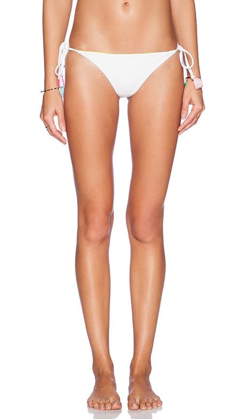 lolli swim Sangria Bikini Bottom in White
