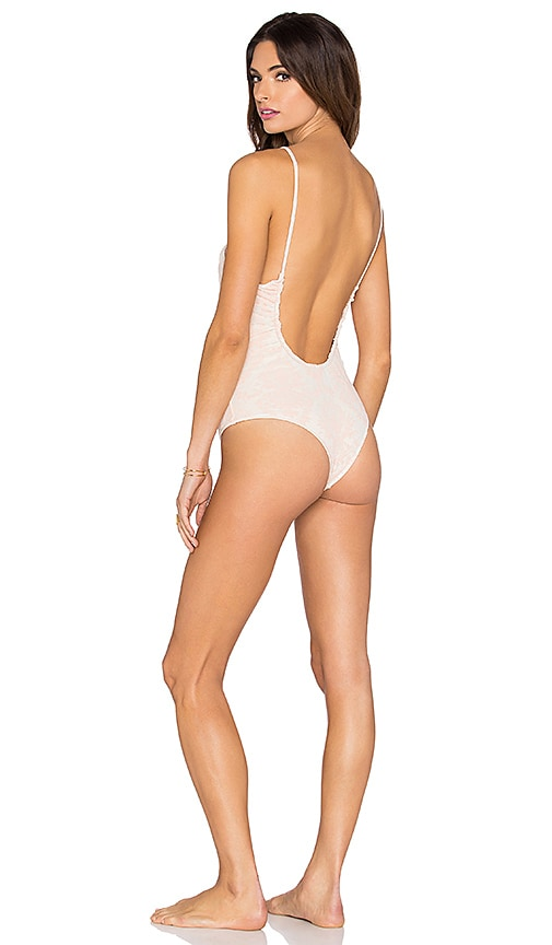 Kisses Shirred One Piece