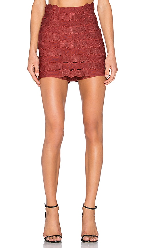 LOLITTA Martha Skort in Red