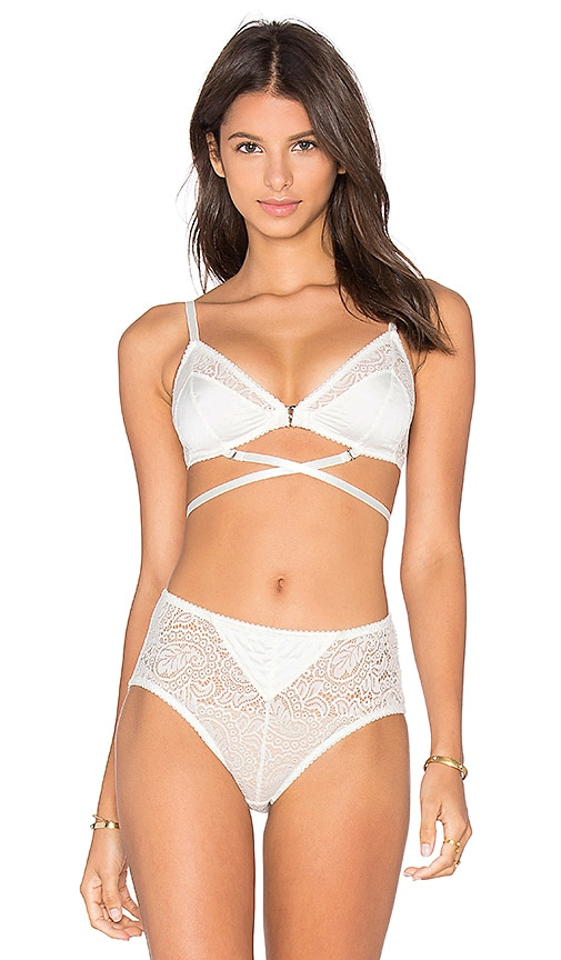 Lonely Billie Soft Cup Bra in White
