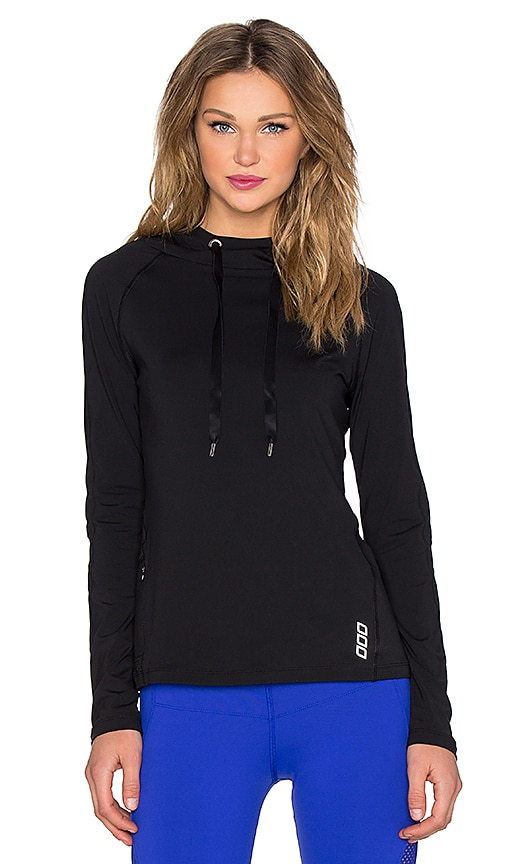 Lorna Jane Annika Hooded Excel Pullover in Black