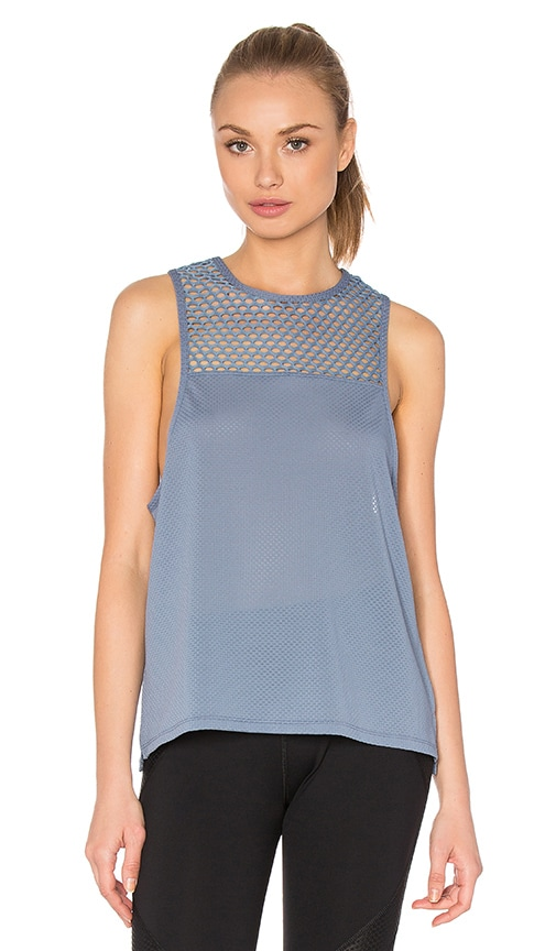 Lorna Jane Dominique Excel Tank in Blue