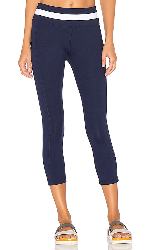 Lorna Jane Sensation 3/4 Legging in Navy
