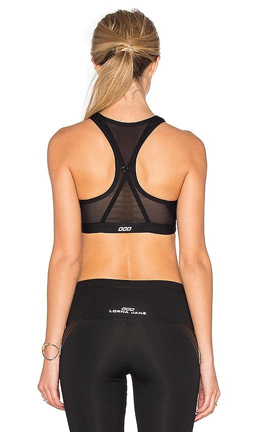 low-cost Lorna Jane Zenith Sports Bra in Black - comnetserv.com
