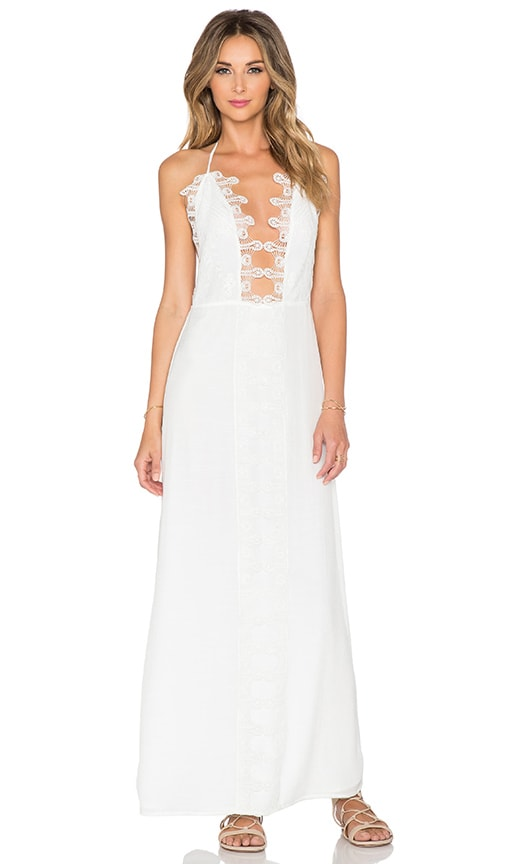 Le Salty Label x REVOLVE Maxi Dress in Ivory