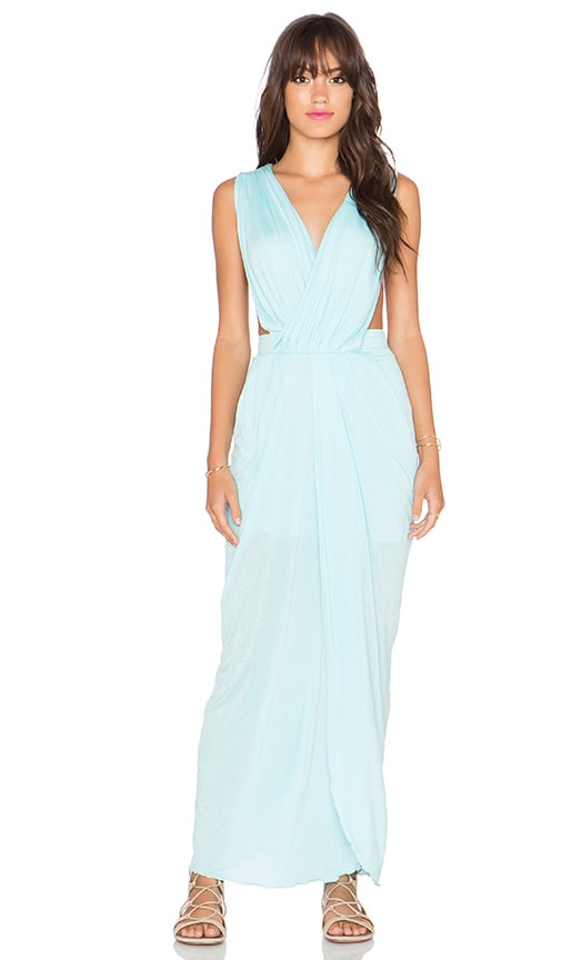 Allure Grecian Maxi Dress