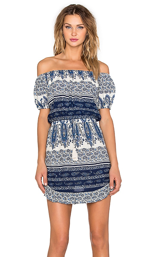 Le Salty Label Drifter Sundress in Blue Paisley