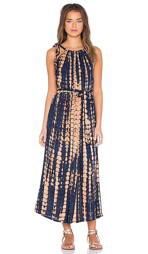 Le Salty Label Zuri Dress in Indigo Phoenix